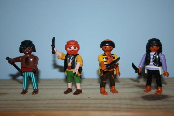 Nouveaux pirates.