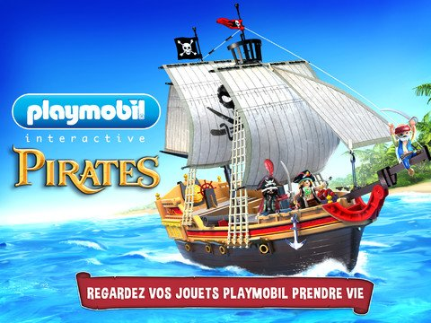 Playmobil jeu de pirates.