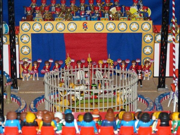 Expo Seneffe. Diorama : le cirque Américain. (Fabrice)