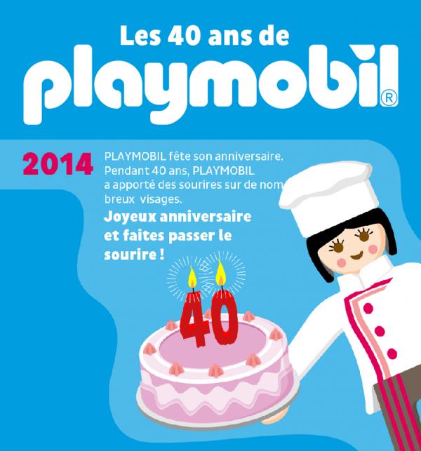 Joyeux anniversaire Playmobil ! :)