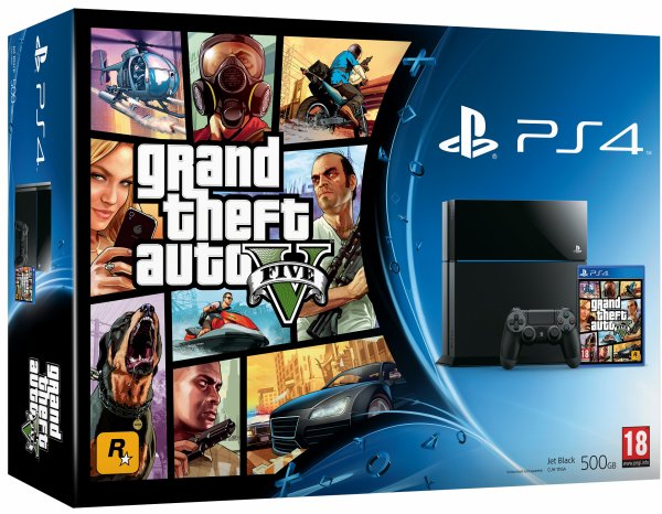 Pack PS4 + GTA V