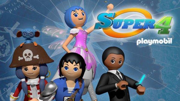 Série Tv Playmobil : Les super 4.