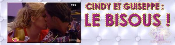 CINDY ET GUISEPPE : LE BISOUS !