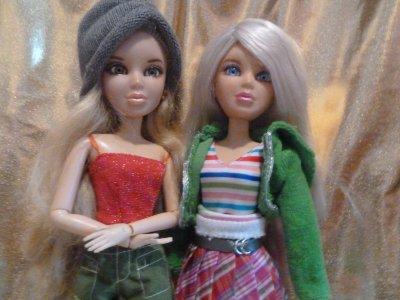 Rencontre Livienne xD avec ma voisine!