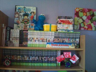 Ma collection de manga.