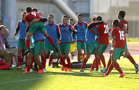"""المنتخب المغربي الأولمبي يفوز على المكسيك ويتأهل لنهائي دورة """"تولون"""" الفرنسية"""