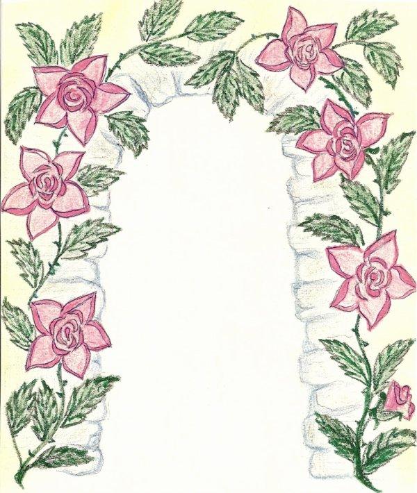 dessin de ma belle-mére 86 ans decédé le6janvier 2011
