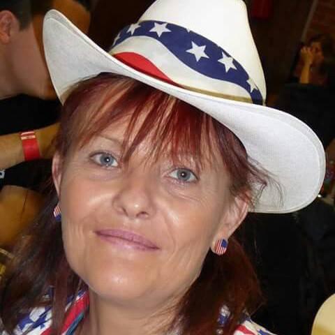 Sylvie notre présidente mais aussi notre professeur de danse country