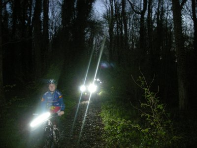 Randonnée nocturne avec le Cyclo Centre Estinnes