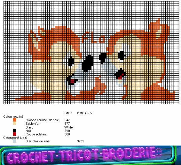 une autre grille gratuite Disney : Tic et Tac