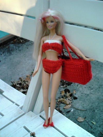 Barbie est partie à la plage