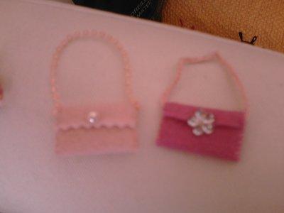 2mini-sacs pour Barbie