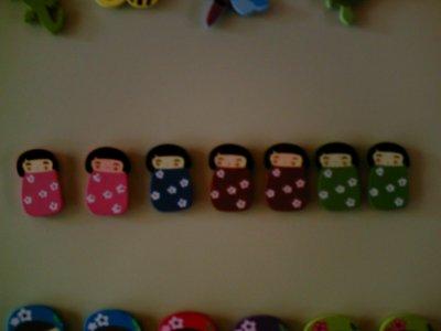 d'autres magnets faits maison