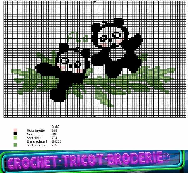 pour Chouchoute238 voici ma grille de pandas (un des 2 fait le bon nombre de xxxxx) ...