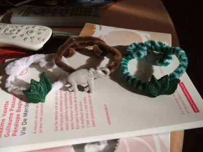 des bracelets faciles et rapides