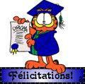 Félicitations !!!