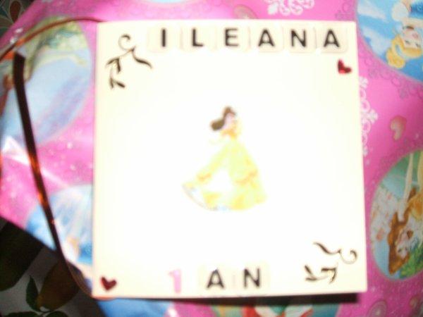 et pour Iléana,