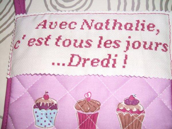 Pour ma collègue et amie Nathalie...