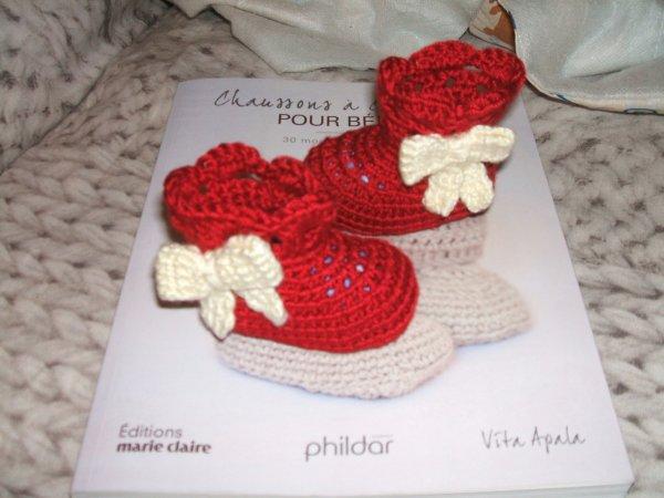 des petites bottines rouges...