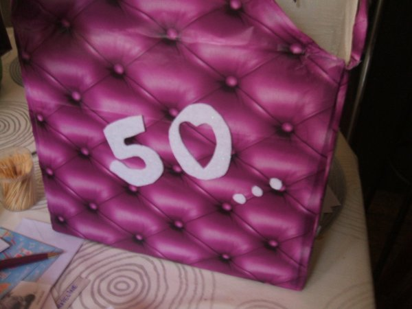 mes 50 ans...