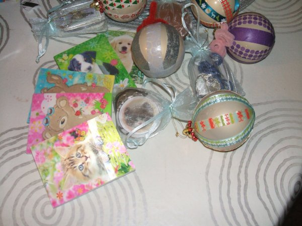 les cadeaux de mes lutins lituaniens