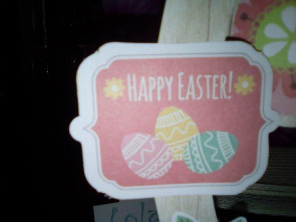 créas pour Pâques...