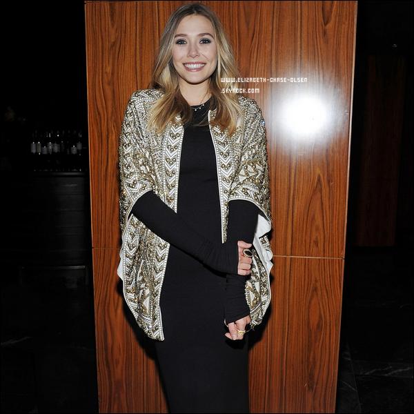""". Le 06 Mars 2012 -   Elizabeth Olsen arrivant à la première de son film """" Silent Hause"""" à New York. ."""
