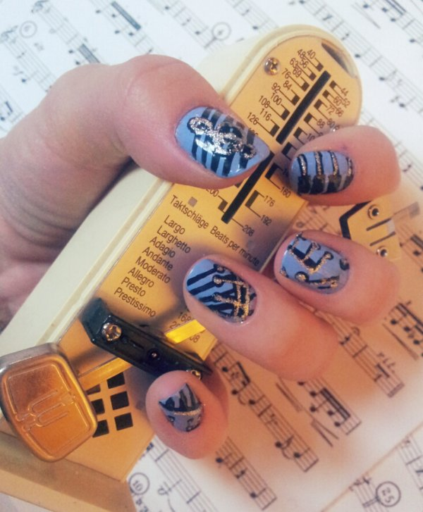 Nail-Art Musique