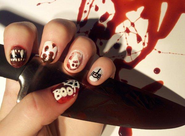 Nail-Art Halloween