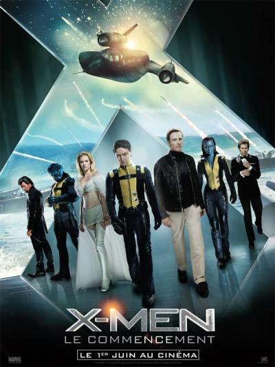 X-Men : Le commencement ****