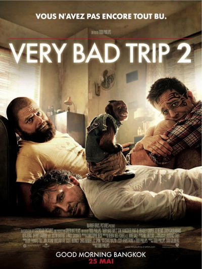 Very bad trip 2 ****