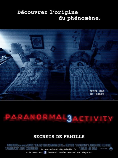 Paranormal activity 3 **