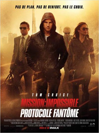 Mission Impossible 4 : Protocole Fantôme ****