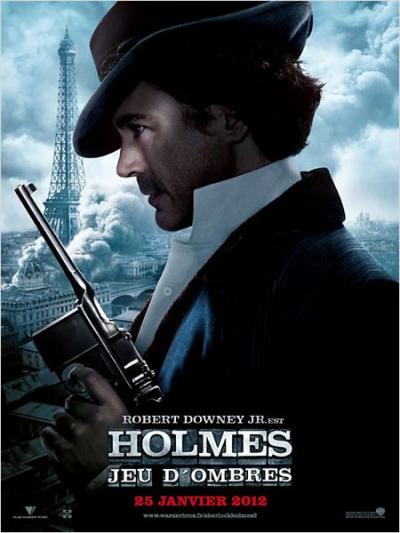 Sherlock Holmes 2 : jeu d'ombres ***