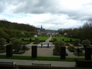Jardin de l'abbaye de Valloire