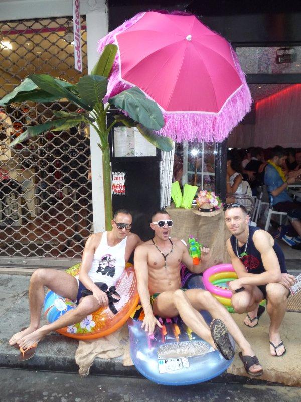 Soirée beach party