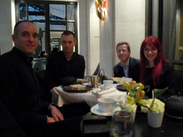 Tea time au Burgundy Hôtel