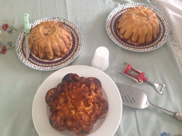 Gâteaux du jour