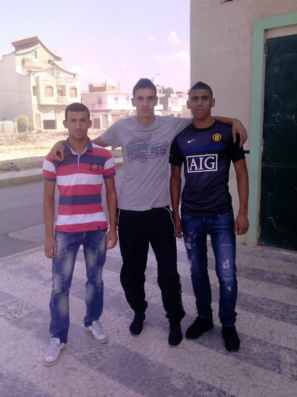 this is me and my best freind ilyes and zaki