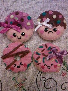 nouveaux modèles broches donut's