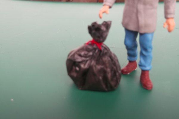 Essais de sacs poubelles