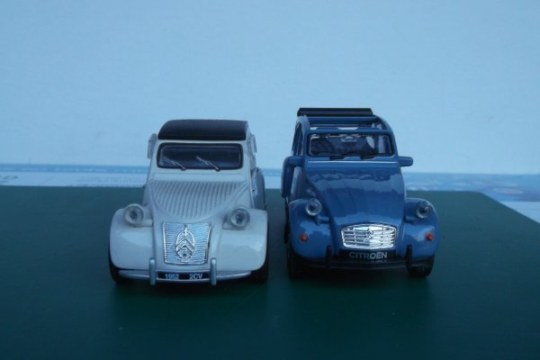 2 CV (New ray et Welly)