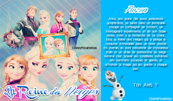 La Reine des Neiges Article 01