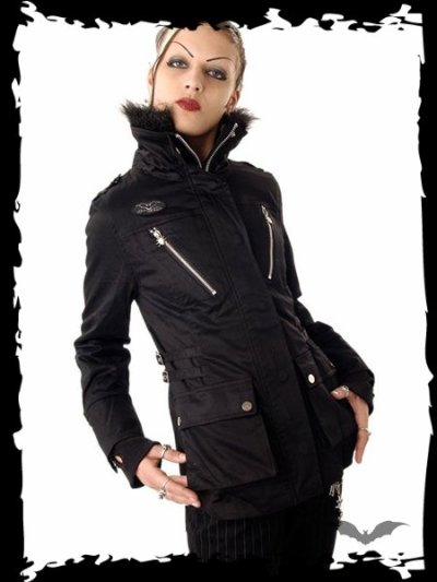 Manteau veste Queen Of Darkness