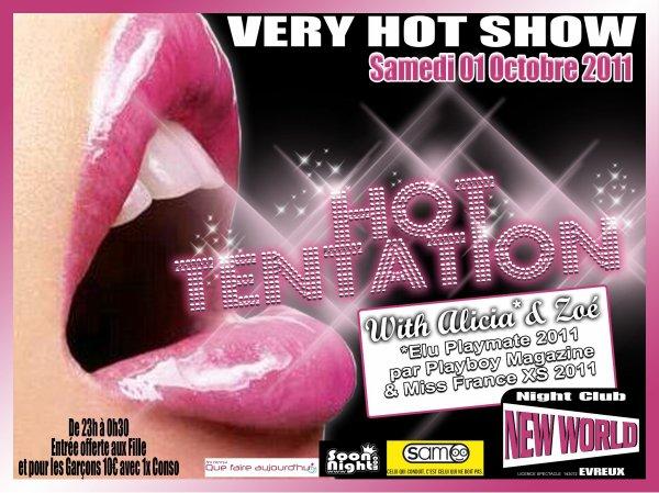 Samedi 01 octobre 2011: Soirée HOT TENTATION ! ! !