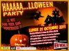 Lundi 31 octobre 2011: HAAAAA...LLOWEEN PARTY ! ! !