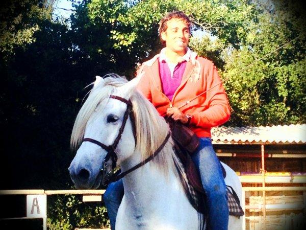Mon prof d'equitation