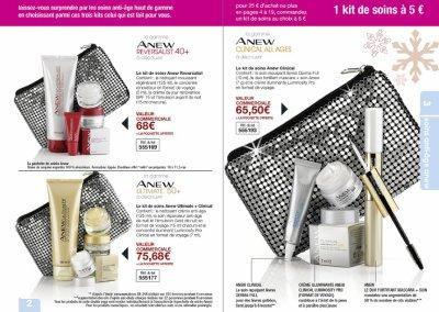 campagne Avon 9, 8 et 7 jusqu'au 28 octobre 2010