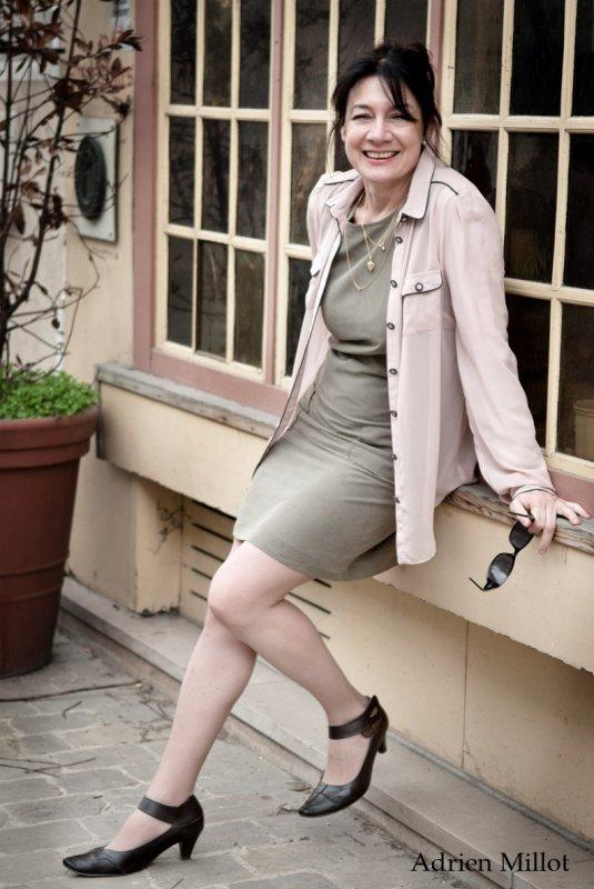 (Famille Gray) Maryse Bourlon dans le rôle de Amanda Gray
