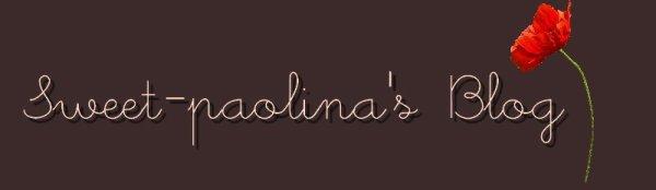 Sweet-Paolina's blog